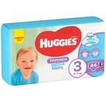 Підгузки-трусики Huggies для хлопчиків 3 6-11кг 44шт