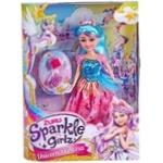 Zuru Sparkle Girlz Princess-unicorn Doll with Accessories 31cm in stock