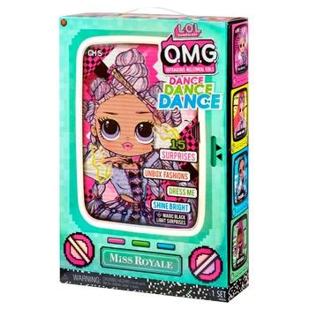 Набор игровой L.O.L Suprrise 117872 OMG Dance Мисс Роял