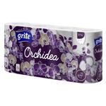 Grite Orchidea Gold Three-Layer Toilet Paper 170detachment 8pcs
