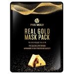 Маска для лица Pax Moly Real Gold тканевая с коллоидным золотом 25мл