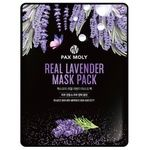 Pax Moly Real Lavender Fabric Face Mask 25ml