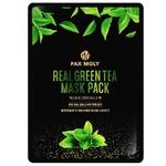 Pax Moly Real Green Tea Fabric Face Mask 25ml