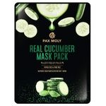 Pax Moly Real Cucumber Fabric Face Mask 25ml