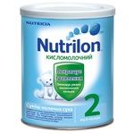 Смесь молочная Нутриция Нутрилон 2 Кисломолочный сухая для детей с 6 месяцев железная банка 400г