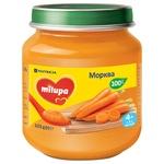 Пюре овочеве Milupa Морква для дітей від 4 місяців 125г
