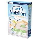 Каша молочная Nutrilon Premium+ Манная с яблоком и бананом сухая для детей с 6 месяцев 225г