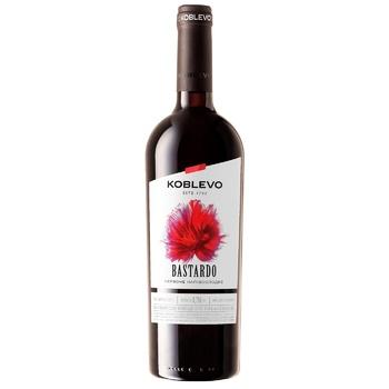 Koblevo Bordo Bastardo Red Semi-Sweet Wine - buy, prices for CityMarket - photo 1