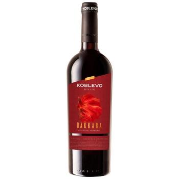 Вино Коблево Баккара червоне міцне 17.5% 0,75л