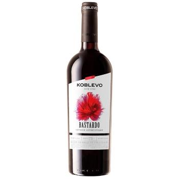 Вино Коблево Бастардо червоне напівсолодке 9,5-13% 0,75л