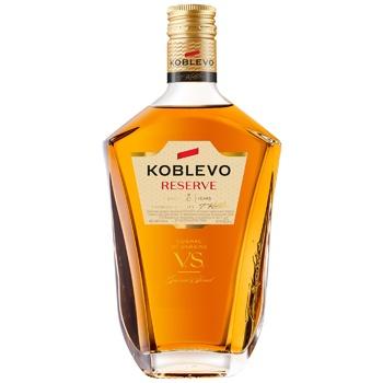 Коньяк Koblevo Reserve V.S. 3 года 40% 0,25л