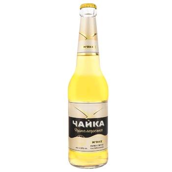 Пиво Чайка Черноморская светлое 4,5% 0,45л