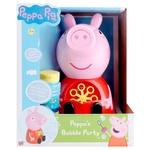 Набір ігровий Peppa Pig Бабл-машина з мильними бульбашками