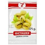 Ukrainska Zirka Salted Pistachios 125g