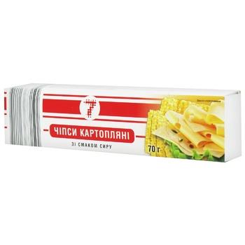 Чипсы Семерка со вкусом сыра 70г