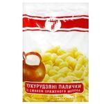 Палочки кукурузные Семерка со вкусом топленого молока 170г