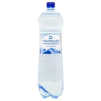 Вода минеральная Eurogroup Свалявская газированная 1.5л