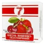 Semerka Cherry and Strawberry Kissel 180g