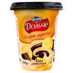 Десерт творожный Dolce банан и шоколад 3,4% 350г