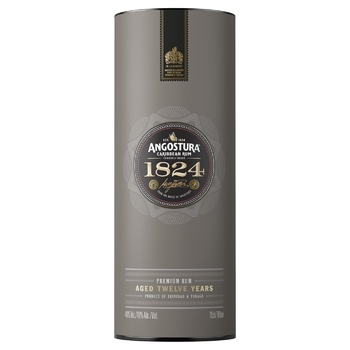 Angostura 1824 12 aged years rum 40% 0,7l - buy, prices for CityMarket - photo 1