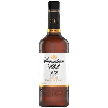 Виски Canadian Club 40% 1л