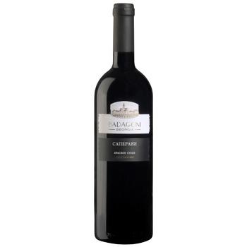 Вино Badagoni Сапераві червоне сухе 13% 0,75л - купити, ціни на CітіМаркет - фото 1