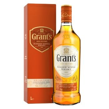 Grants Rum Cask whisky 40% 0,7l - buy, prices for CityMarket - photo 1