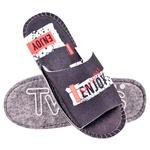 Тапки домашні чоловічі Twins 4425 Enjoy р.40/41 синій войлочні з відкритим носком