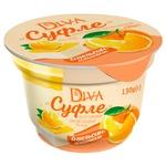 Dessert Agromol Diva curd with soufflе 7% 130g Ukraine