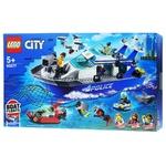Конструктор Lego City Поліцейський патрульний човен