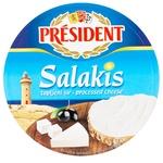 Сыр плавленый President Фета Salakis 35% 140г