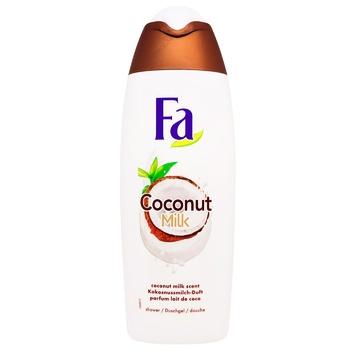 Крем-гель для душа Fa Coconut Milk Аромат Кокосового молока 500мл