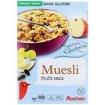 Auchan Muesli with Dried Fruits without Gluten 375g