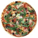 Пицца с лососем 480г