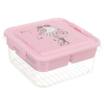 Органайзер Fashion 52414290 25х26х11см рожевий
