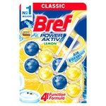 Toilet block Bref Power active 2* 50 g Lemon