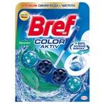 Toilet block Bref Color Water 50g Eucalyptus