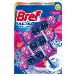 Блок Бреф Цветная вода Цветочная свежесть 3х50г