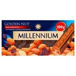 Millennium Gold Nut Milk Chocolate with Whole Almonds and Raisins 100g