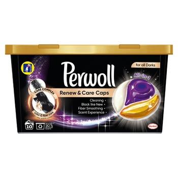 Средство Perwoll для стирки для темных вещей 10х14.5г