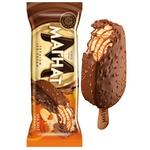 Khladyk Magnat Sea Salt Caramel Flavored Ice Cream Covered With Confectionery Glaze 70g