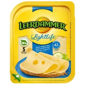 Leerdammer Lightlife Hard Cheese 30% 100g - buy, prices for CityMarket - photo 1