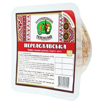 Ukrprompostach Pereyaslavska Smoked-Baked Sausage 140g - buy, prices for CityMarket - photo 1