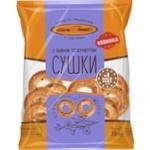 Сушки Київхліб з льоном та кунжутом 250г