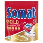 Таблетки Somat Gold для посудомоечной машины 10шт