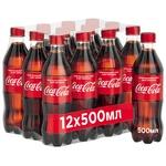 Напиток Coca-Cola сильногазированнй 0,5л