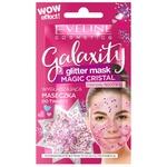 Гель-маска для лица Eveline Galaxity Magic Cristal с блестками 10мл