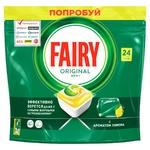 Means Fairy lemon for the dishwasher 24pcs Poland