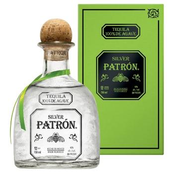 Текіла Patrón Silver 40% 0,75л - купити, ціни на Метро - фото 1