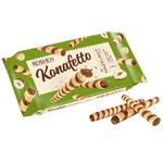 Roshen Konafetto Waffer Rolls with Nut Filling 140g
